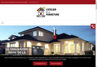 Site internet de L'Atelier de la Fermeture