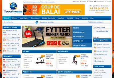 Capture d'écran du site de Atelier Express