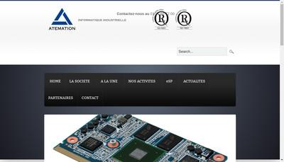 Site internet de Atemation