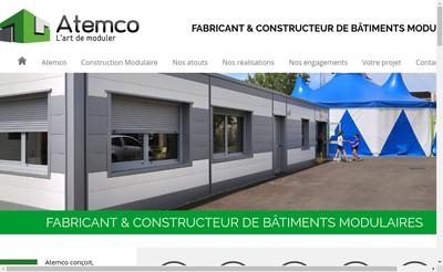 Site internet de Atemco