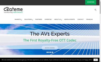 Site internet de Ateme