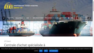 Site internet de Ati Export