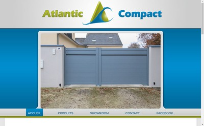 Site internet de Atlantic Compact