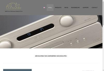 Site internet de Atoll Electronique