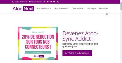 Site internet de Atoo Next