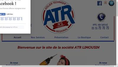 Site internet de Atr Limousin