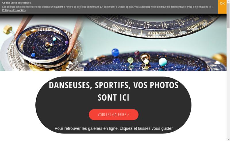 Capture d'écran du site de Attitudes Photo