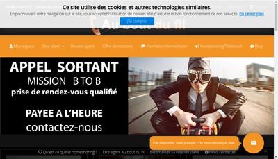 Site internet de Au Bout du Fil