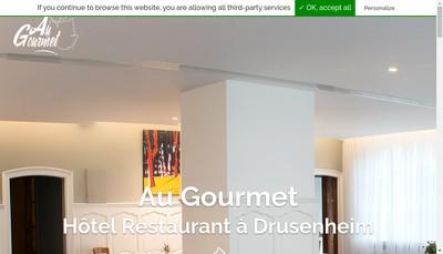 Site internet de Jardin Bistronomique
