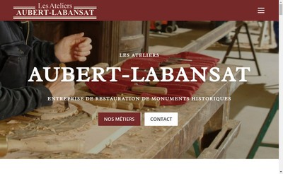 Site internet de Les Ateliers Aubert Labansat