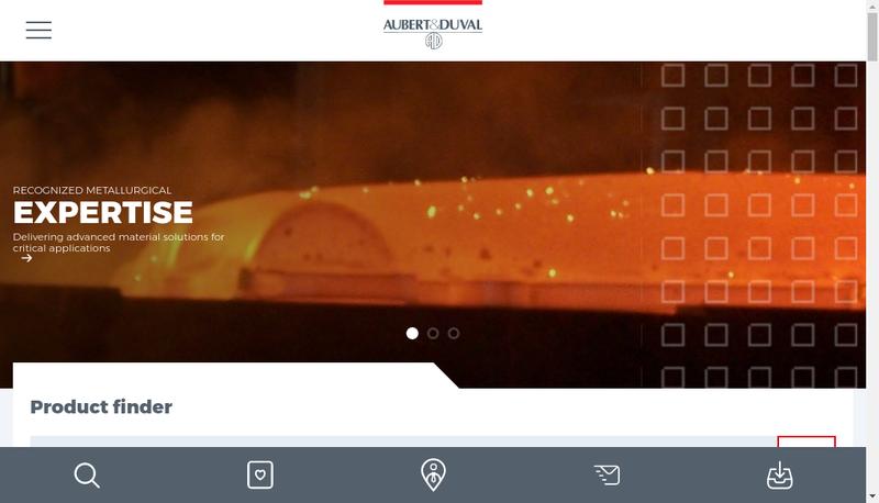 Capture d'écran du site de Ad Taf Traitements Thermiques