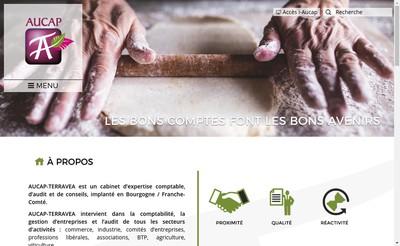 Site internet de Aucap Terravea