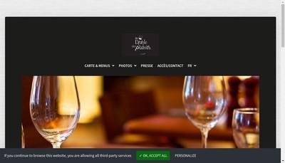 Site internet de Au Diable des Plaisirs