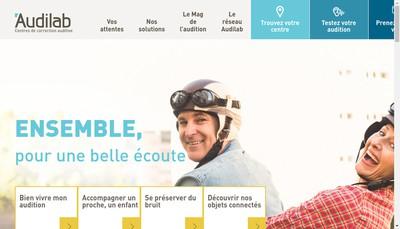 Site internet de Audilab
