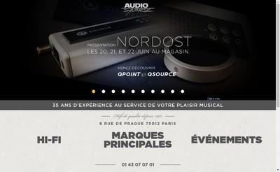 Site internet de Audio Synthese Integration