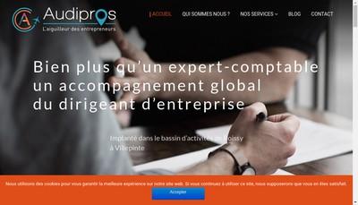 Site internet de Audipros