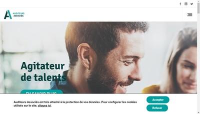 Site internet de Auditeurs Associes Groupe