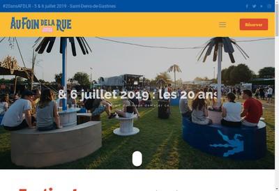Site internet de Au Foin de la Rue