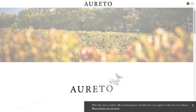 Site internet de Aureto