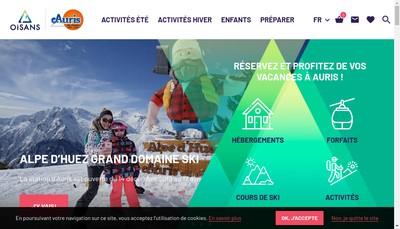 Site internet de Auris Service