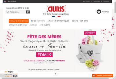 Site internet de Auris Institut Actipol Medimag Biosom