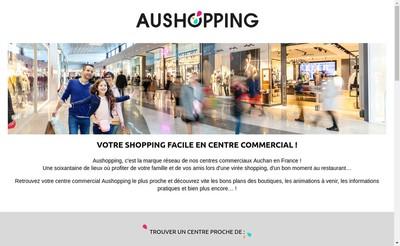 Site internet de Aushopping