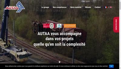 Site internet de Transports Autaa