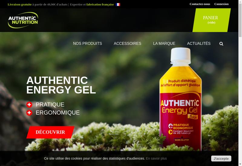 Capture d'écran du site de Sammie Products