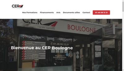Site internet de Centre Auto Routier