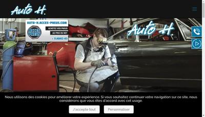 Site internet de Automobiles Kocher