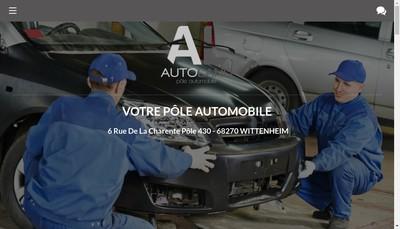 Site internet de Autoland Inter Parebrise