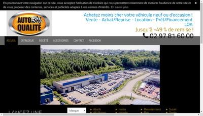 Site internet de SARL Auto Qualite
