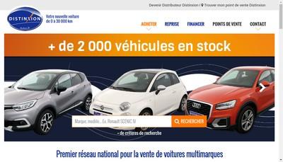 Site internet de Saint Herblain Automobiles