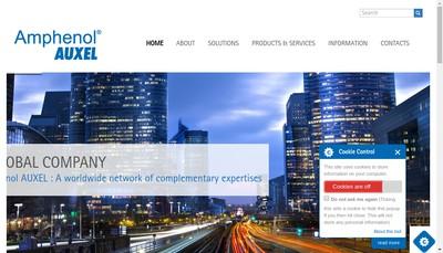 Site internet de Auxel
