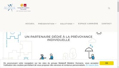 Site internet de Mederic Assistance