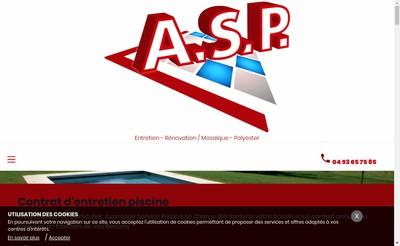 Site internet de Avantage Service Piscine