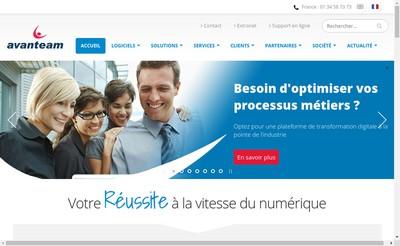 Site internet de Gedys Vrc Technologies