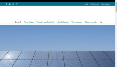 Site internet de Avenir Solution Energie