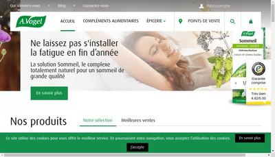 Site internet de A Vogel