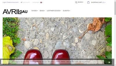 Site internet de Avril Gau