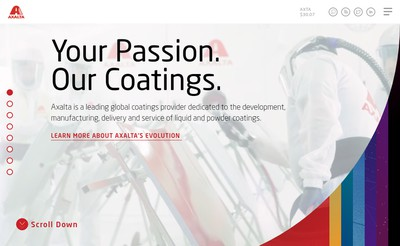 Site internet de Axalta Coating Systems France SAS
