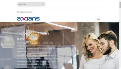 Site internet de Alliacom