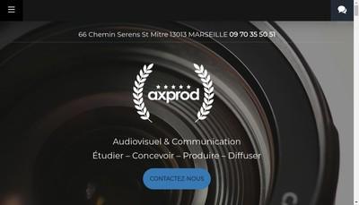 Site internet de Axprod