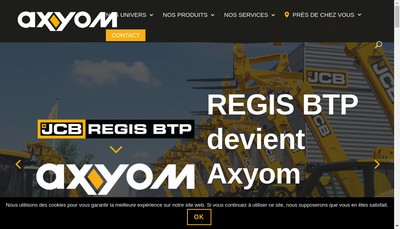 Site internet de Axyom