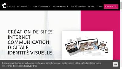 Site internet de Mets et Voyages Traiteur
