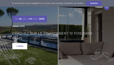 Site internet de Azenco Groupe