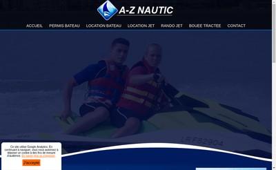 Site internet de Az Nautic