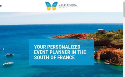 Site internet de Azur Riviera Prestations