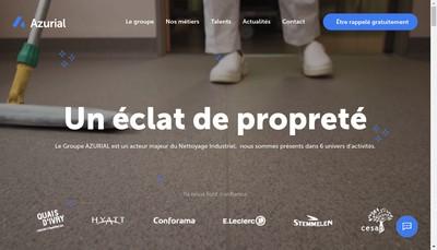 Site internet de Azurial