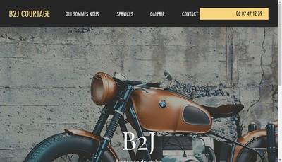 Site internet de B2J Courtage